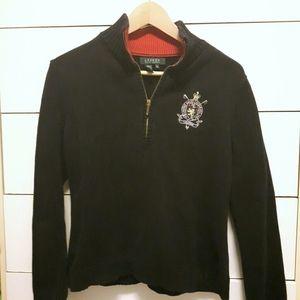 Ralph Lauren logo crest sweater